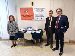 inaugurazione sportello UICI Torino ospedale San Lazzaro