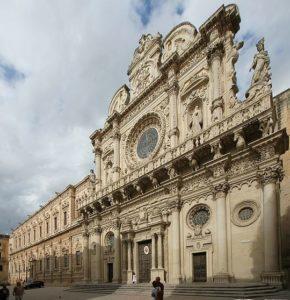 La cattedrale di Sant'Oronzo a Lecce in Puglia
